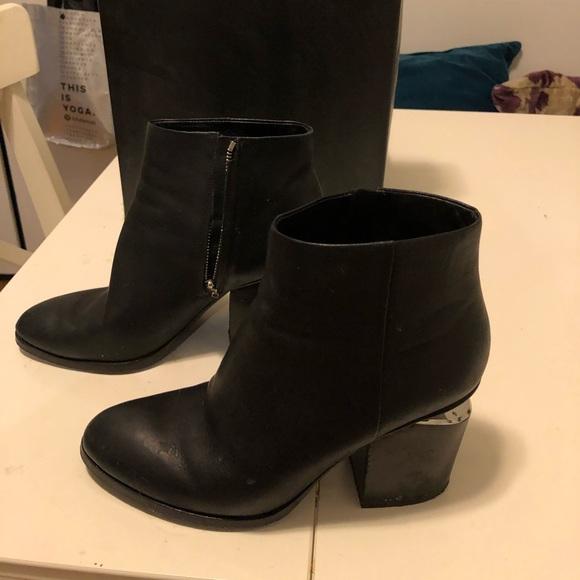 Alexander Wang Gabi Boot W Silver Size